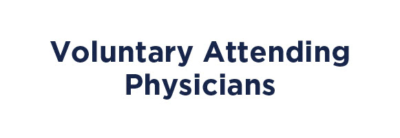 Voluntary Attending Physicians